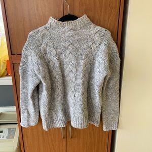 Madewell heavy knit sweater